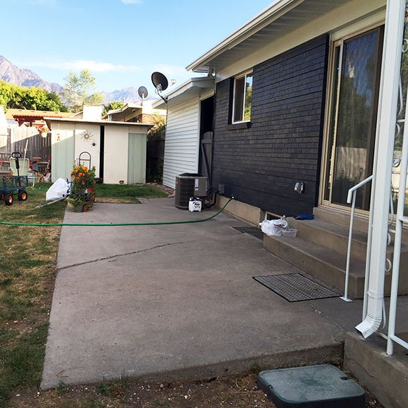 backyard transfomation