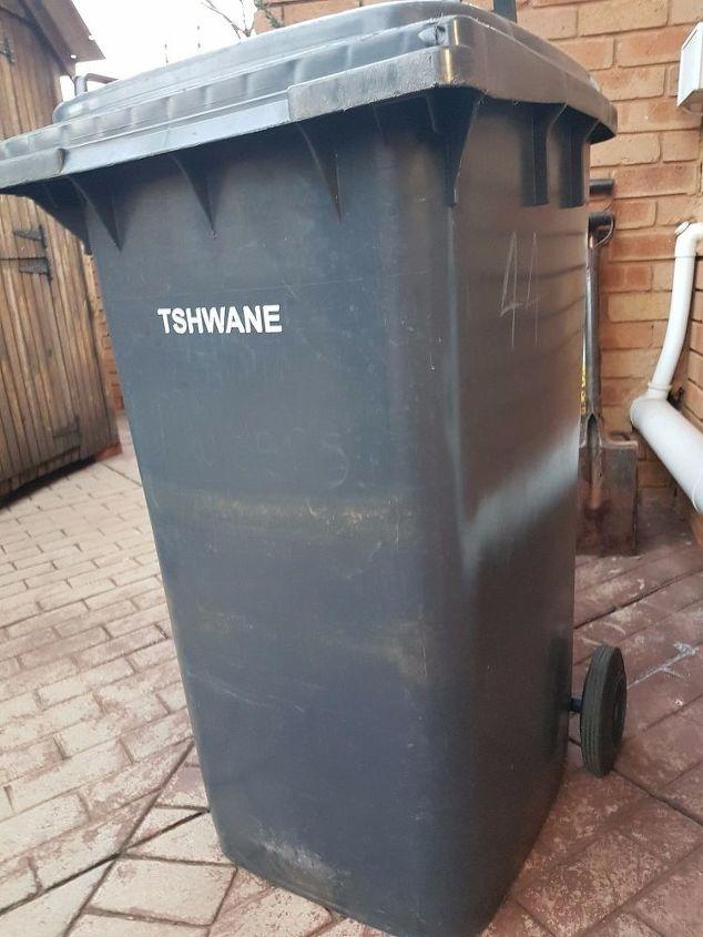 refuse bin facelift