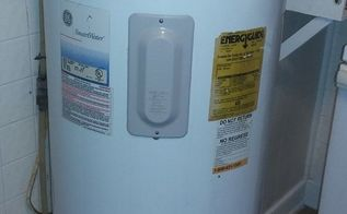 q how to cover a hot water heater