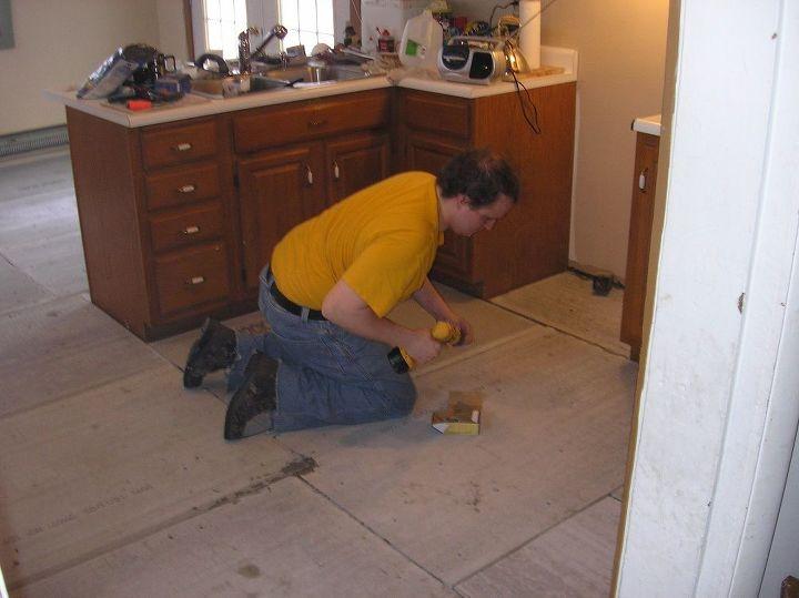 Kitchen Floor Replacement   Hometalk