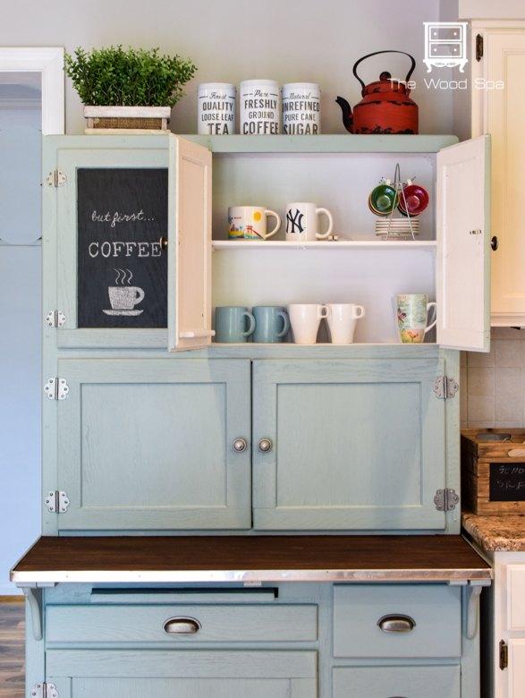 Hoosier Cabinet Made Into A Coffee Bar Hometalk