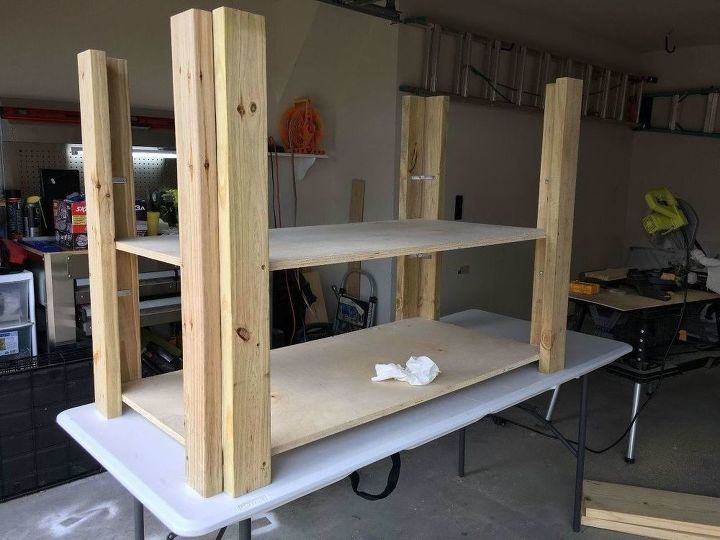 rolling work bench with storage