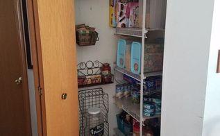 small pantry organization on a budget