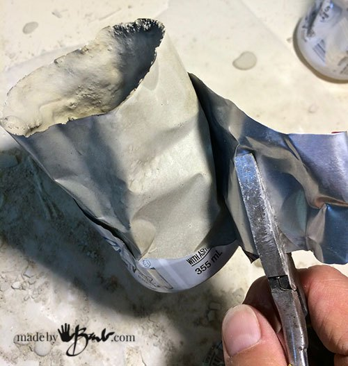 easiest concrete casting ever