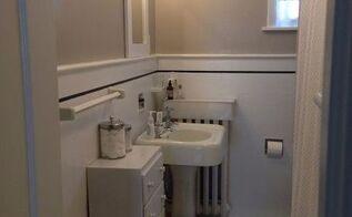 dingy bathroom tile paint it