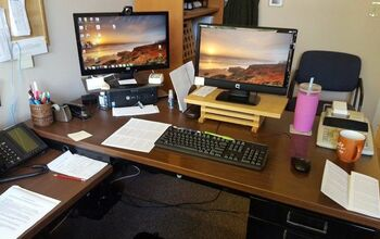 Upgrade an old metal Steelcase desk