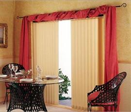 You Can Drape A Complimentary Color Across Curtain Rod Something Like This