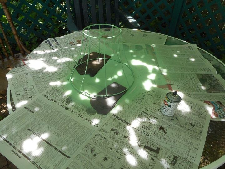 converting a lamp shade into a bug catcher this is a no cost projec