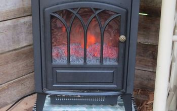 Outdoor Fire Hearth for My She Shed