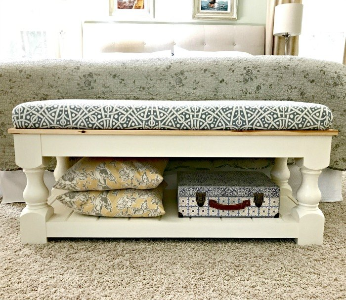 how to video simple bench upholstery with no sewing required