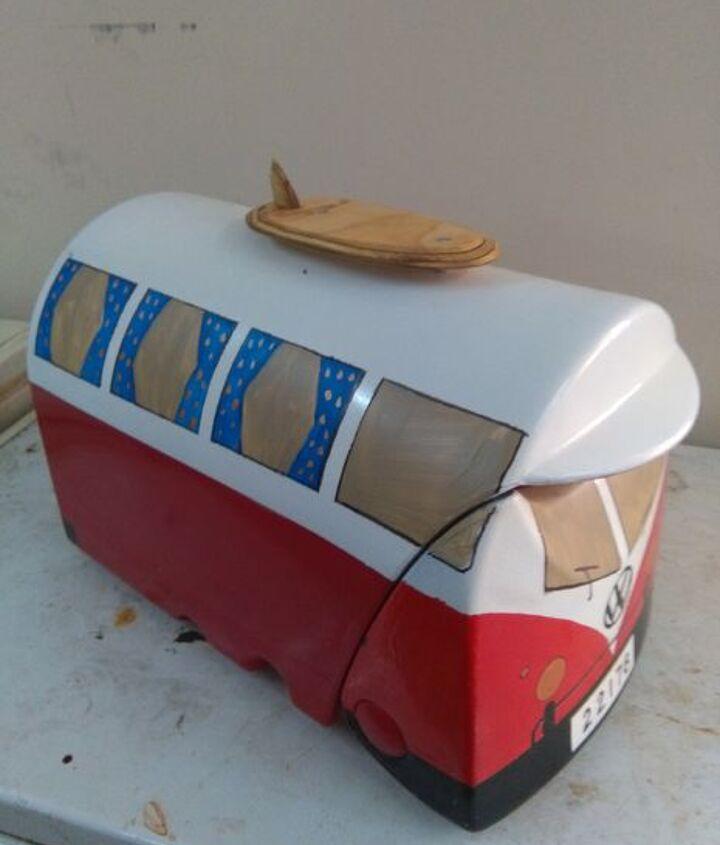 vw camper van mailbox