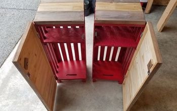 Crate Bedside Tables