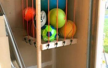 Garage Ball Storage