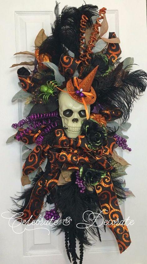 halloween swag for your front door