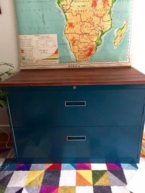 file cabinet facelift