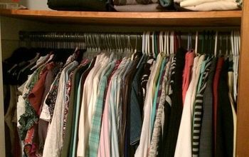 Organize a Small Closet for Under $50