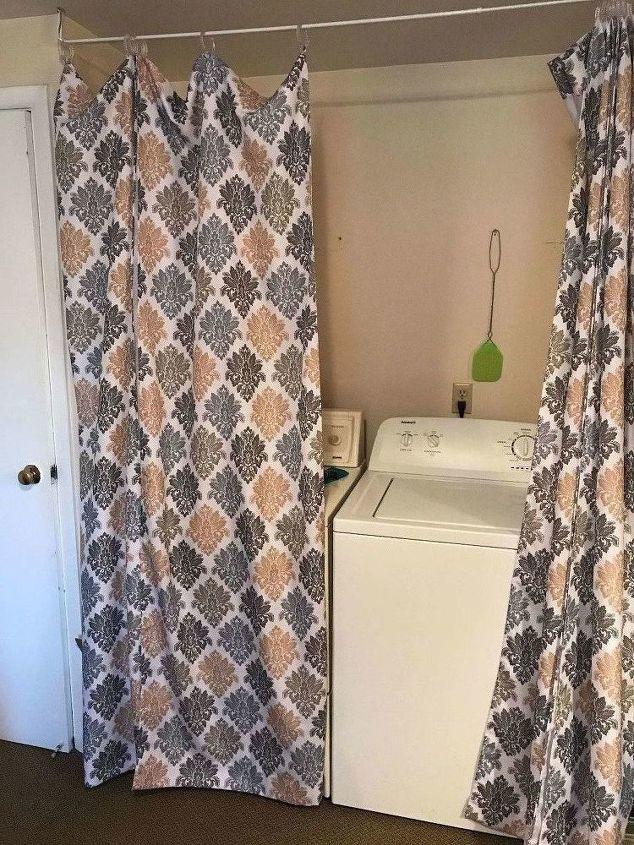Beautiful Laundry Room With Curtains Hometalk Qa64