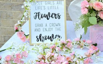 DIY Baby Girl Shower and a Free Printable!