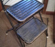 q want to redo metal step stool so many ideas need help choosing