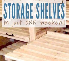 Diy Sliding Storage Shelves