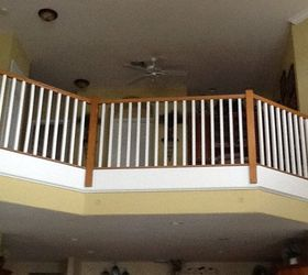 Q Can Wood Stair Spindles Be Changed To Iron By Homeowner