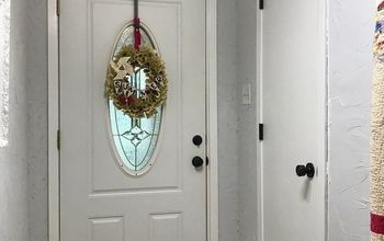 Builder Grade Door Makeover - Saving $$$