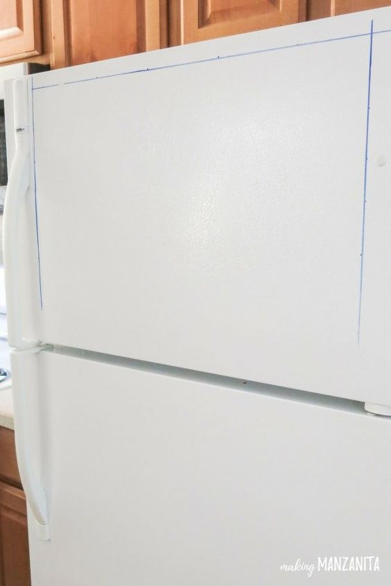 command center on fridge
