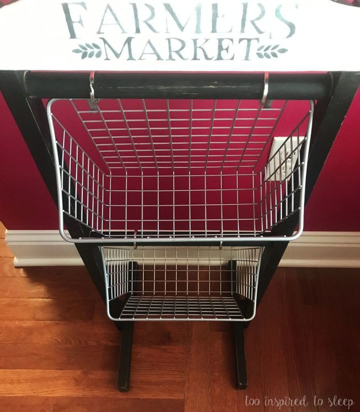 farmhouse vegetable bin