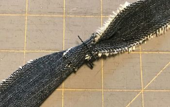 make fabric strips without sewing