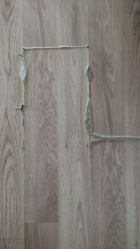 How Can I Fix Oak Laminate Flooring That Has Swollen From Being Wet