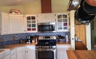 french country farmhouse kitchen makeover on a budget