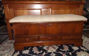 another goodwill treasure vintage lane cedar chest bench