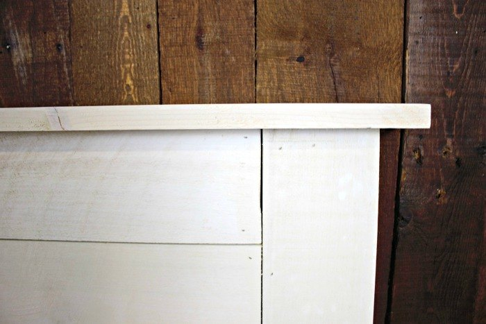 how to build a shiplap headboard