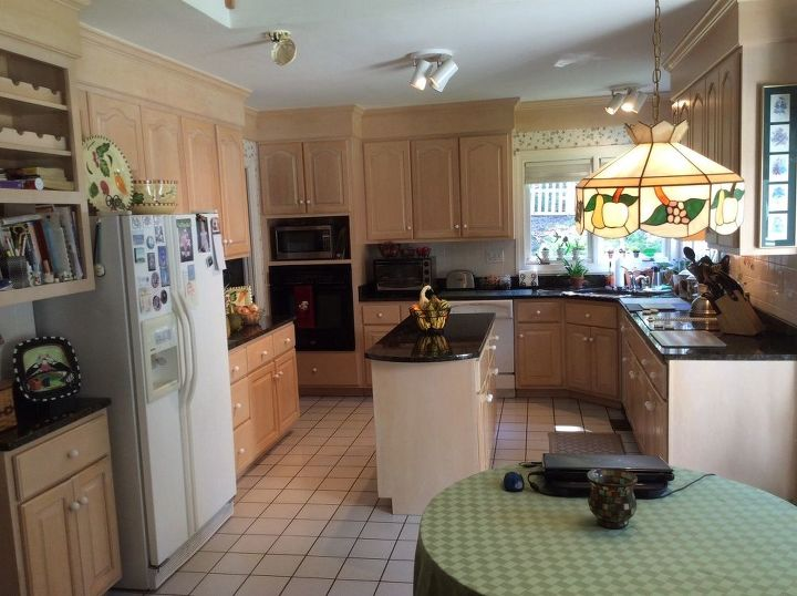 Is painting the best way to update solid maple cabinets and ...