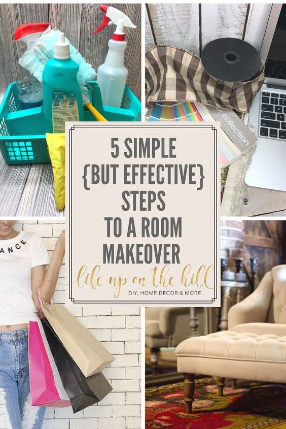 5 simple but effective steps to a room makeover