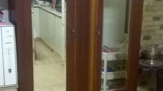 , Before removing and stripping mirror