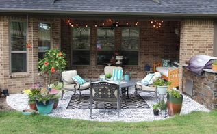 how to stencil your patio