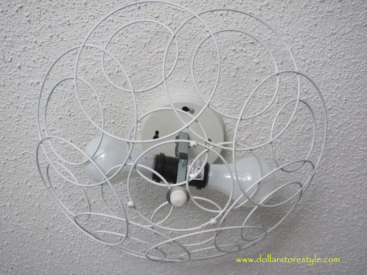 refresh a ceiling fixture the easy way
