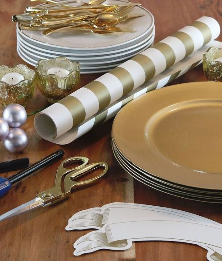 how to set a holiday tablescape