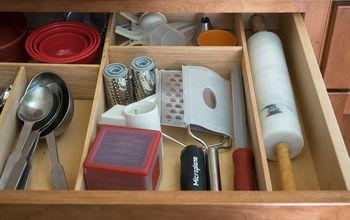 custom kitchen drawer organization