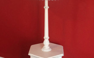 revival of a 80 s floor lamp end table