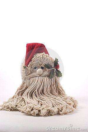 q santa mop head instructions