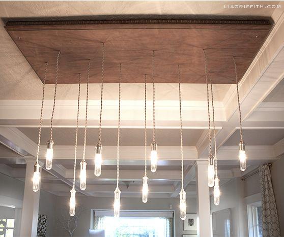 Diy industrial chandelier hometalk diy industrial chandelier aloadofball Choice Image