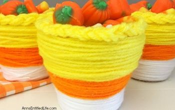 Candy Corn Pots