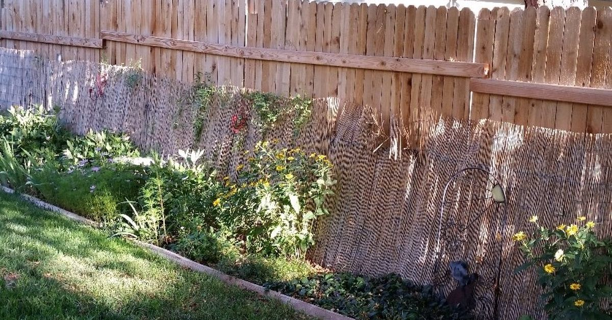 Making Pretty From Neighbors Ugly Fence Hometalk