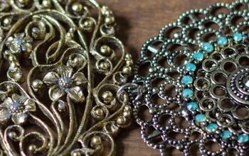 vintage jewelry statement necklace