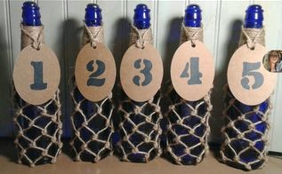 nautical wedding decor table numbers