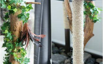 Tiny Tree Branch Faux Planter