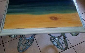 Simple, Serene SEA-side Tables !