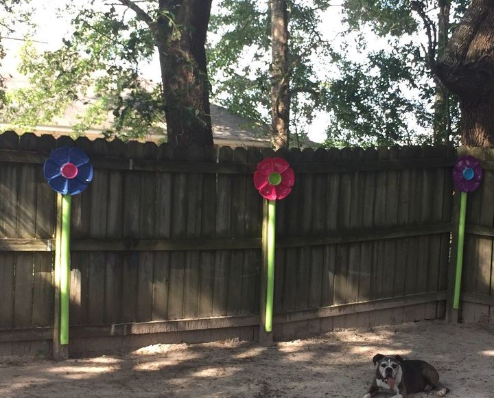 flowers for the fence
